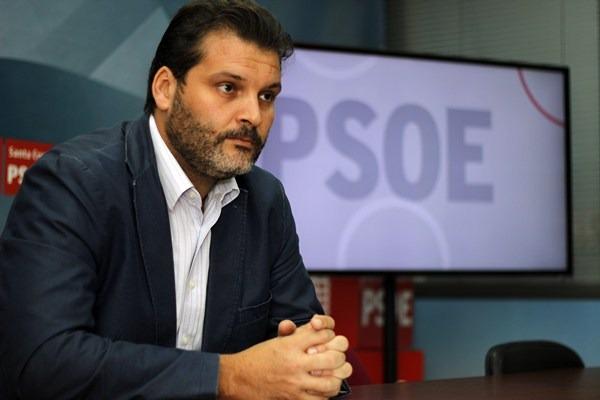 Jose Angel Martin PSOE Santa Cruz de Tenerife