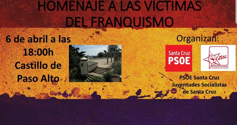 Homenaje a las víctimas del Franquismo