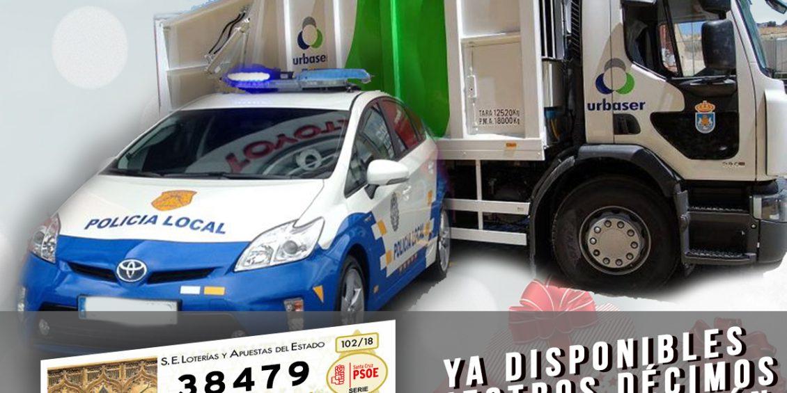 Loteria de navidad PSOE Santa Cruz