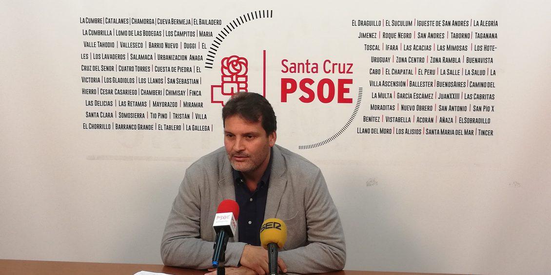 El PSOE pide la suspensión del concurso de limpieza de Santa Cruz
