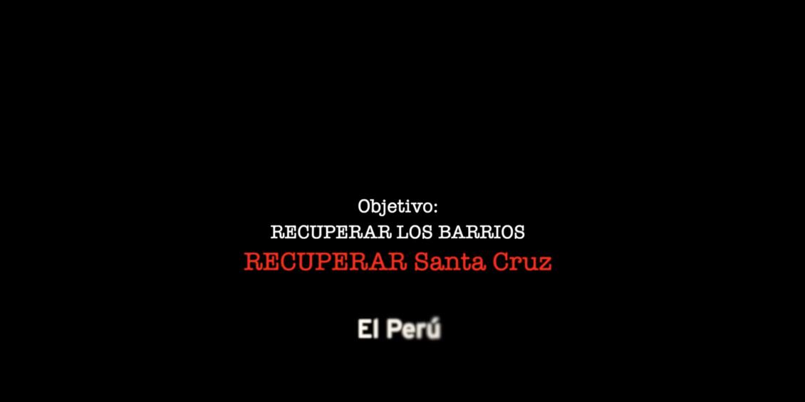 Patricia Hernández recorre el barrio de El Perú