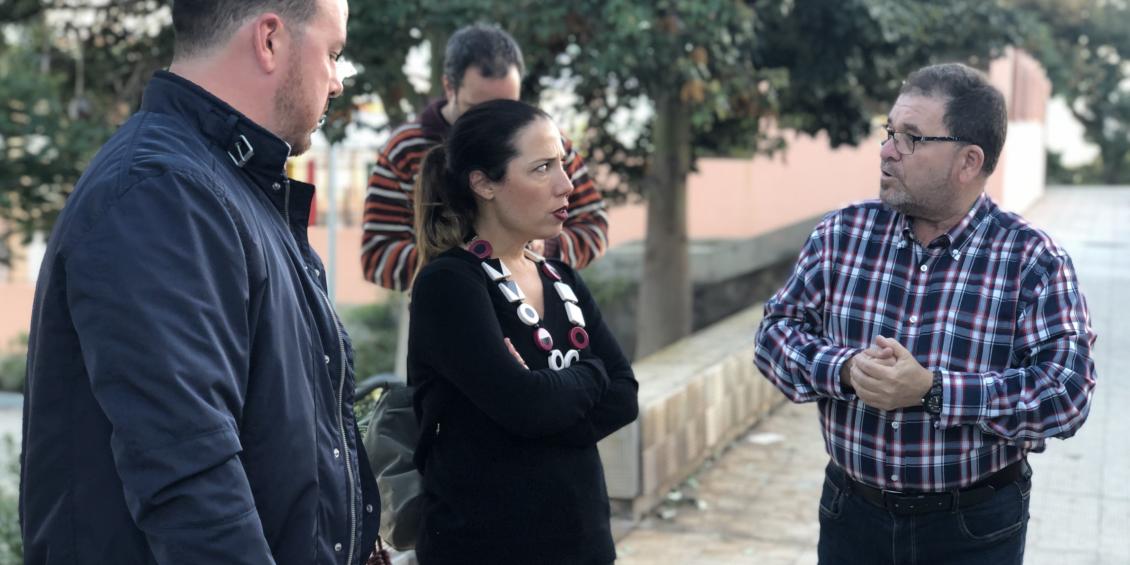 El PSOE pide en el Tagoror de Salud-La Salle que se mejore la iluminación en El Perú y Villa Ascensión