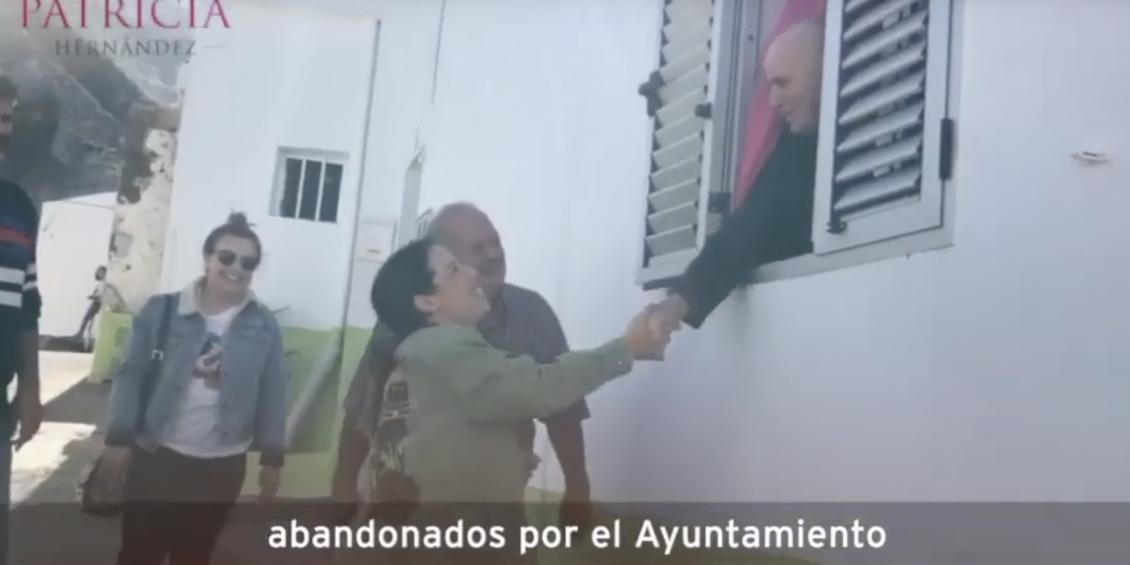 Patricia Hernández recorrió Anaga junto a los vecinos