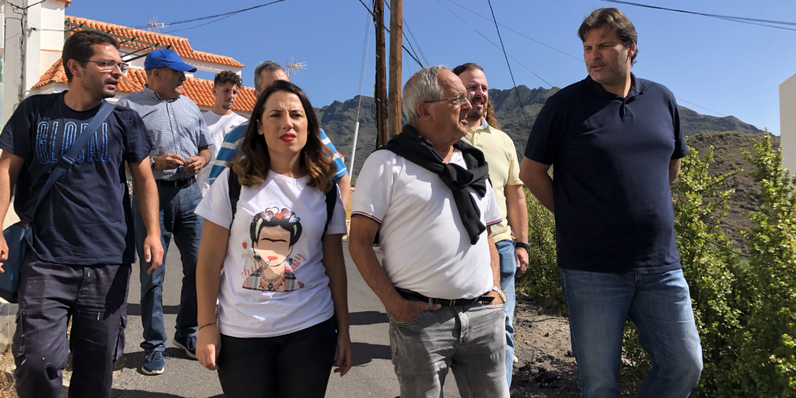 PSOE mejora vecinos San Andrés