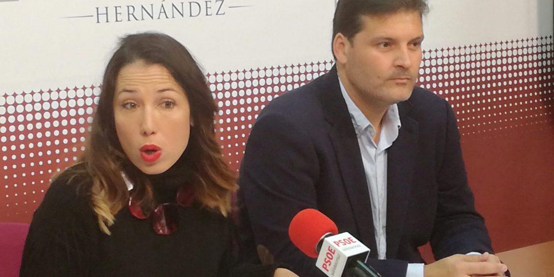 Patricia Hernández y José Ángel Martín
