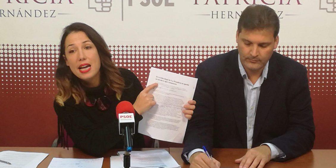 Patricia Hernández y José Ángel Martín RP