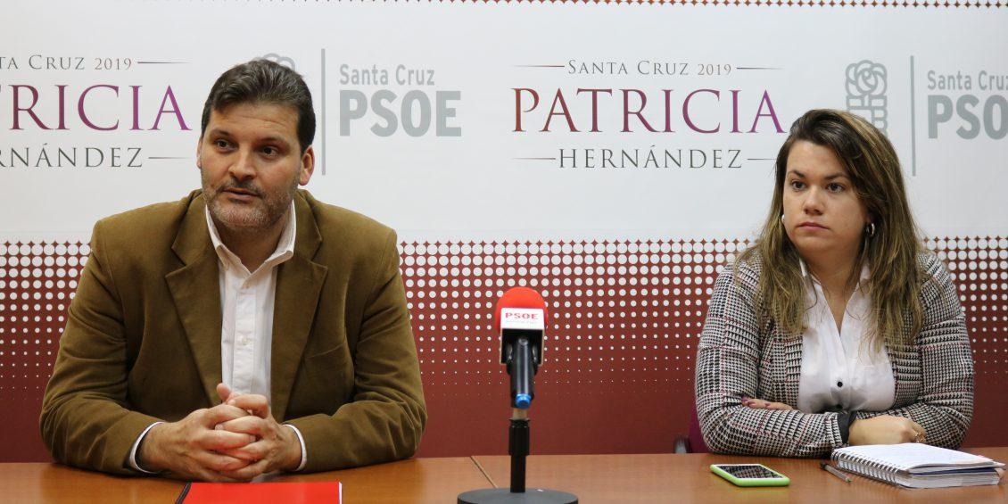 RP PSOE SANTA CRUZ J.A Martín y Elena Mateo imagen de archivo
