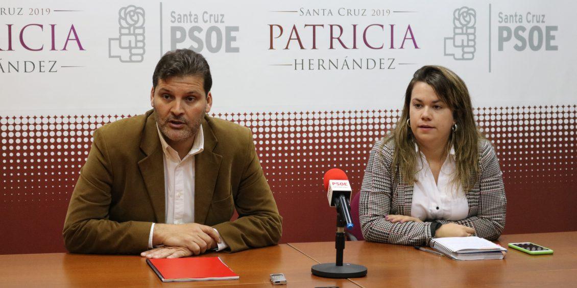 RP PSOE SANTA CRUZ J.A Martín y Elena Mateo sobre ayudas a la discapacidad2