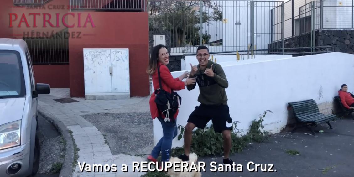 Patricia Hernández recorre La Salud