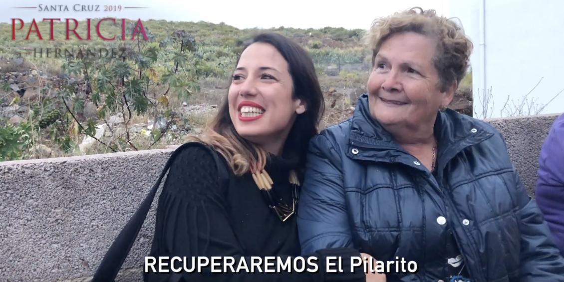 Patricia Hernández recorre La Gallega y El Pilarito