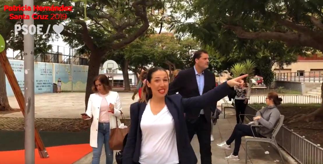 Patricia Hernández recorre el barrio de Salamanca y el de Uruguay