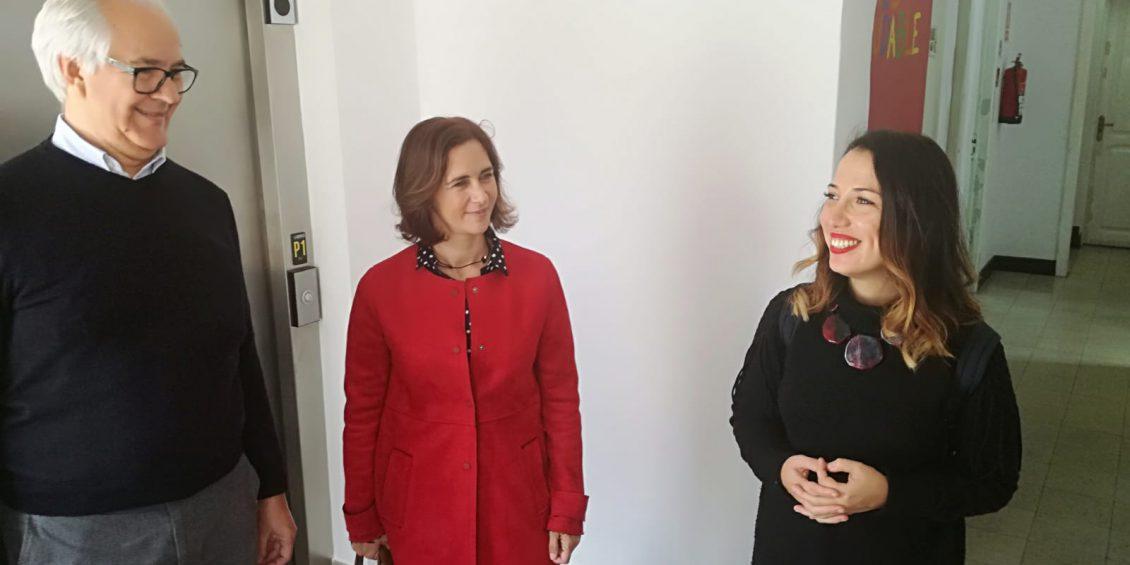 Patricia Hernández califica a Aspronte como uno de los valores sociales más importantes con los que cuenta Santa Cruz