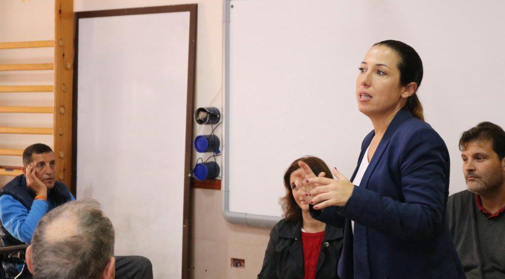 Patricia Hernández en Parkinson Tenerife 2