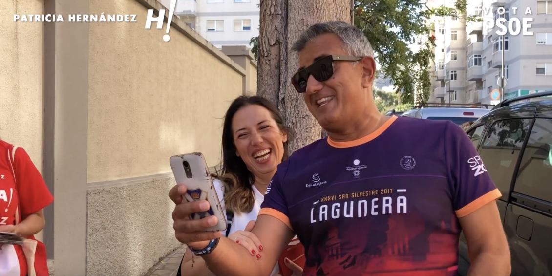 Patricia Hernández recorre Cruz del Señor