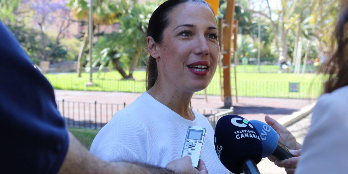 Patricia Hernández propone un plan de parques seguros para acabar con el abandono que sufren, especialmente en los barrios