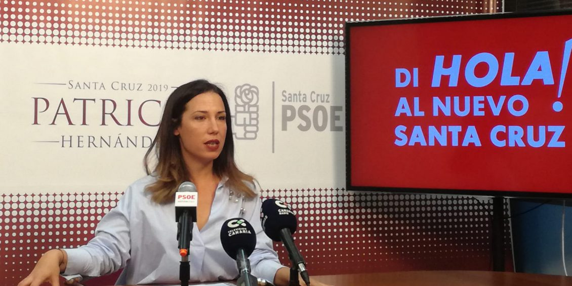 Patricia Hernández, di HOLA al nuevo Santa Cruz