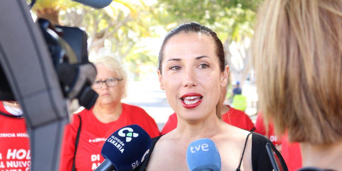 """Patricia Hernández: """"Santa Cruz no puede estar más limpia con menos trabajadores de limpieza"""""""