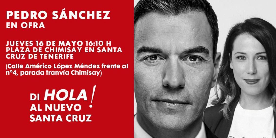 Pedro Sánchez en Ofra